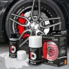 JOM Brake Caliper Paint Lacquer, red, 1 component system, brake caliper paint lacquer 75ml, brake caliper cleaner 250ml, brush, protective gloves