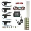 Zentralverriegelung, Komplett Set, 4-türig, inkl. 2 Funkfernbedienung, 4 Stellmotoren passend für universal