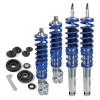 suspension combiné fileté Blueline - Amortisseurs filetés / filetés - avec coupelles avant et arrière