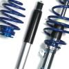 BlueLine Gewindefahrwerk passend für Opel Corsa C 1.0i 12V, 1.2i 16V, 1.7Di, Baujahr 11.2001 - 2006