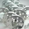 Spurverbreiterung Set 10mm inkl. Radschrauben passend für VW Golf,Jetta II (19E,19EL,1,9e-298)