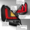 LED Lightbar Rückleuchten schwarz passend für Ford Fiesta (Typ JA8) ab Bj. 2013