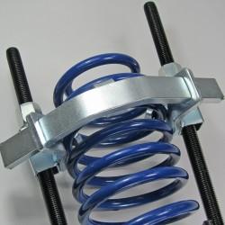 JOM Kit Compresseur de Ressort d'Amortisseur universels capacité de serrage 300 MM charge 1500 kg - Qualité Allemande