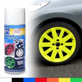 Felgenfolie, Sprühfolie, abziehbarer Felgenlack, SprayCoater II neon gelb 400ml