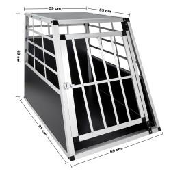 Hundetransportbox Grösse L 69 x 91 x 65 cm