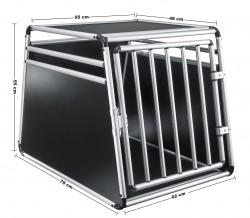 Hundebox Hundetransportbox Transportbox Hund Alubox Reisebox Gitterbox Auto