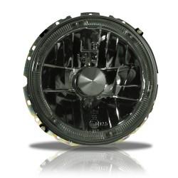Scheinwerfer, AE-Design H4, Klarglas / schwarz passend für VW Golf 1