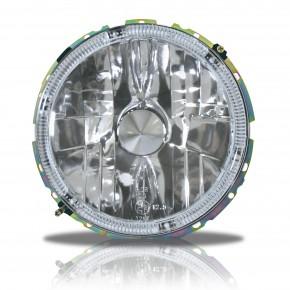 Scheinwerfer, AE-Design,H4, Klarglas / Chrom passend für VW Golf 1