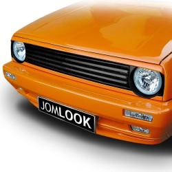 Kühlergrill ohne Emblem, schwarz passend für VW Golf 2