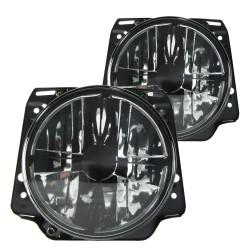 Scheinwerfer mit Fadenkreuz schwarz passend für VW Golf 2