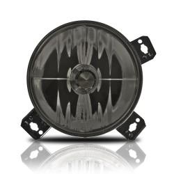 Fernscheinwerfer, Klarglas verstärkt schwarz