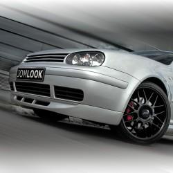 Frontspoiler mit Wabengitter passend für VW Golf 4 Baujahr 1997 - 2003