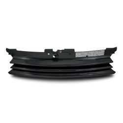 Kühlergrill ohne Emblem, schwarz passend für VW Golf 4
