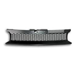JOM calandre de radiateur sans sigle compatible avec Golf 4 / IV  -  Nid d'abeille  - Qualité allemande