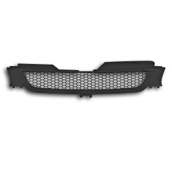 JOM calandre de radiateur sans sigle compatible avec Golf 5 Look Grille nid d'abeille - Noir - Qualité allemande
