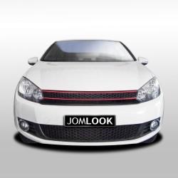 Calandre, JOM, compatible avec  VW Golf 6 (à partir de 08), sans sigle, grille nid d'abeille