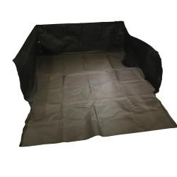 JOM couverture / Antidérapante Tapis de protection de voiture pour chien Dimensions : Base 105 x 97 cm/ côté 37 cm / Total 173cm, Waterproof - couleur : Noir, matériau : polyester - Qualité allemande