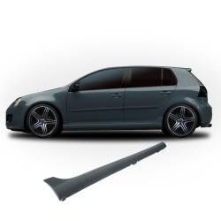 Seitenschweller GTI-Optik, mit Anbaumaterial, ABS Grundiert, 1 Satz rechts + links passend für VW Golf 5 (5 Türer)