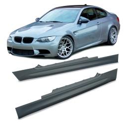 Seitenschweller, ABS, 1 Satz, links und rechts, SportLook passend für BMW 3er Coupe E92, 2 Türer, Bj.2007-2009