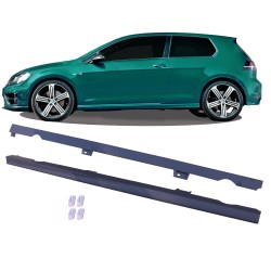 Side skirts suitable for VW Golf 7 year 2012 - fit for 3 and 5 doors