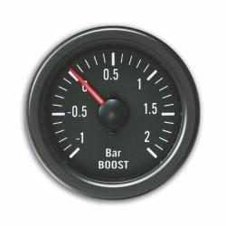 Zusatzinstrument YoungTimer, Ladedruckmesser, Boost, schwarz Ø52mm