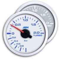 Zusatzinstrument, Dynamic, Ladedruckmesser, Turbo-Boost, Schrittmotor Technik, 2-farbige LED Anzeige wählbar,  Ø52mm