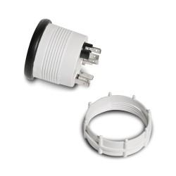 Zusatzinstrument, Youngtimer,Wassertemperartur (40~120°C), schwarz, Ø52mm