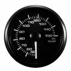 Gauge oil temperature