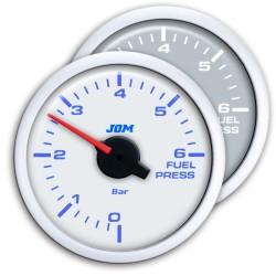 Zusatzinstrument, Dynamic, Kraftstoffdruck, Schrittmotor Technik, 2-farbige LED Anzeige wählbar, Ø52mm