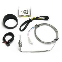 Zusatzinstrument, Dynamic, Abgastemperaturanzeige, Schrittmotor Technik, 2-farbige LED Anzeige wählbar, Ø52mm