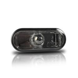 Seitenblinkleuchten, Klarglas/schwarz passend für VW Golf 3, Golf 4, Vento, Lupo, Bora, Leon