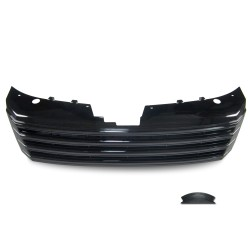 Front Grill badgeless, black gloss paint suitable for VW Passat B7 (type 36) year 11/2010-
