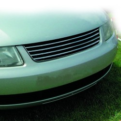 Front Grill badgeless, black /chrome suitable for VW Passat 3B year 1996 - 2000
