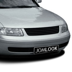 Front Grill badgeless, black suitable for VW Passat 3B year 1996 - 2000
