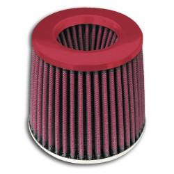 Sportluftfilter Power- Filter, 60,70,76,84 und 90mm Anschluss, mit rotem Deckel passend für universal