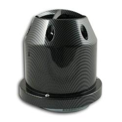 Sportluftfilter HYPER-JET-II- Filter, Carbon-Look,  60,70,76,84 und 90mm passend für universal