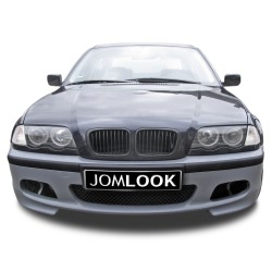 Pare-chocs avant, JOM, BMW E46 98-05, berline/Touring, sport look, gris