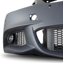 Front bumper in sports design with PDC holes, HCS and fog lights suitable for BMW 5er F10 Limousine year 01.2010-06.2015 and F11 Touring year 04.2010-