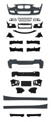 Bod Kit in sports design incl. side skirts with PDC holes and HCS suitable for BMW 1er F20 year 2011-2015
