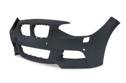 Stoßstangen Kit im Sport-Design inkl. Seitenschweller mit PDC-Bohrungen und SRA passend für BMW 1er F20 Baujahr 2011-2015