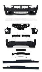 Bod Kit in sports design incl. side skirts with PDC holes and HCS suitable for BMW 4er F32 year 10.2013-