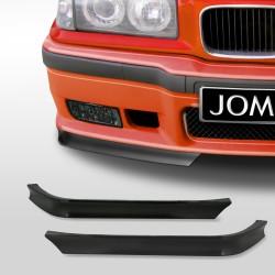 Spoilerecken für Frontstoßstangen passend für BMW 3er E36 Baujahr 1990 - 1998