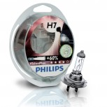 H7 12V 55W Philips Vision Plus +60, 2 Stück