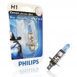 H1 12V 55W Glühlampe, Philips Blue Vision ultra 4000°K