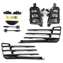 Frontstoßstange inkl. Kühlergrill und Nebelscheinwerfer mit PDC-Bohrungen passend für VW Golf 7