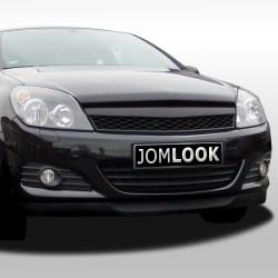 Calandre, Opel Astra H 3 portes 05-07, noire, sans sigle, look sport