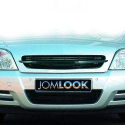 Kühlergrill ohne Emblem schwarz passend für Opel Vectra C und Signum Baujahr 2002 - 2005