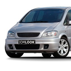 Front Grill badgeless, black suitable for Opel Zafira A