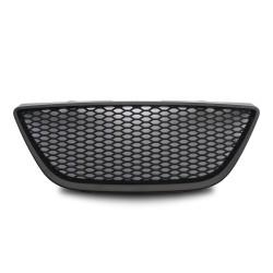 Kühlergrill ohne Emblem, schwarz passend für Seat Ibiza 6J ab Baujahr 2008-2011