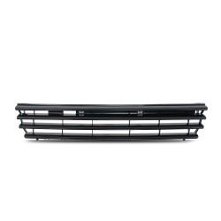 Kühlergrill, Sportgrill, ohne Emblem, schwarz passend für VW Polo 4 (6N)